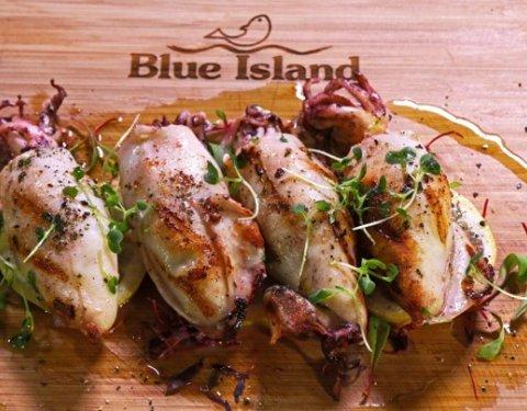 Καλαμάρι Blue Island γεμιστό με φέτα - Images