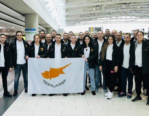 Οι ομάδες του Συνδέσμου Αρχιμαγείρων Κύπρου αναχώρησαν για τους Ολυμπιακούς στη Στουτγκάρδη - Κεντρική Εικόνα