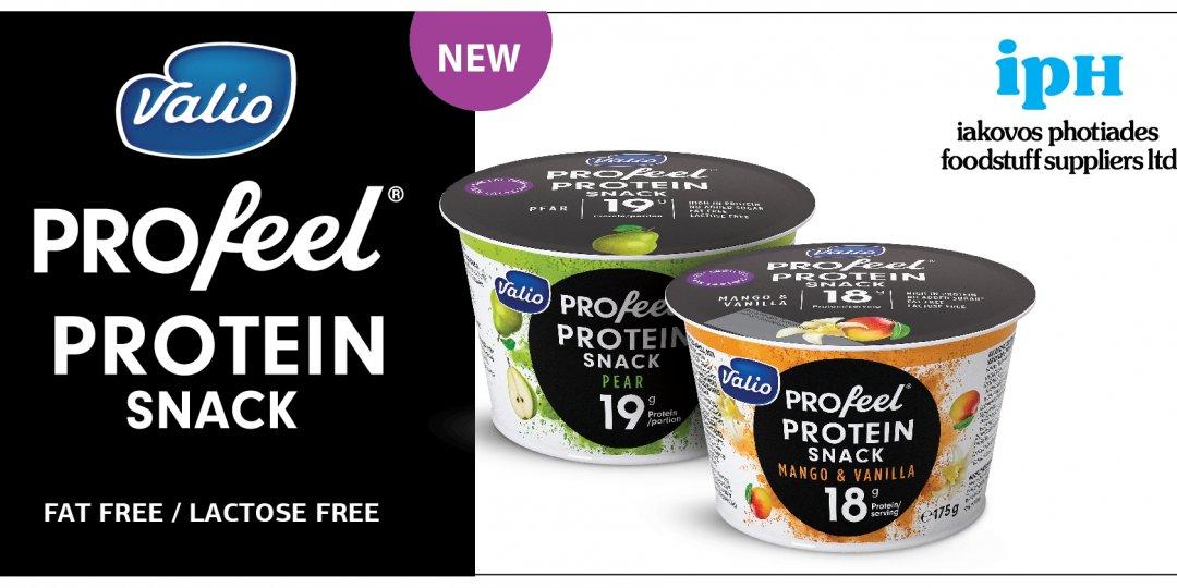 Feed your ambition με τα νέα Valio PROfeel® Protein Snacks - Κεντρική Εικόνα