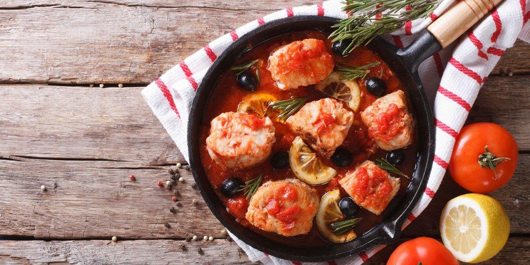 Φιλέτο γλώσσας με σάλτσα ντομάτας - Images