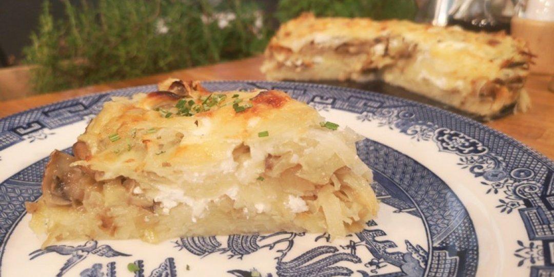 Νόστιμη πατατόπιτα με μανιτάρια από την Ουκρανία - Images