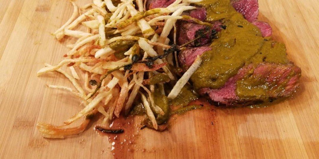 Αργεντινή - Μοσχαρίσια κόντρα με σάλτσα chimichurri - Images