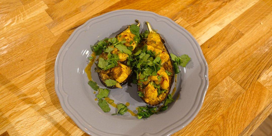 Μελιτζάνες με κάρυ (Σρί Λάνκα) - Images
