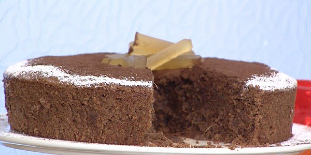 Σοκολατένιο κέικ με τζίντζερ - Images