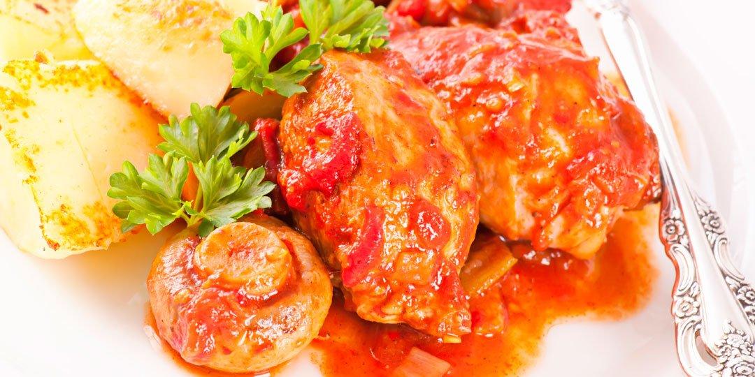 Κοτόπουλο αλα κατσιατόρα  - Images