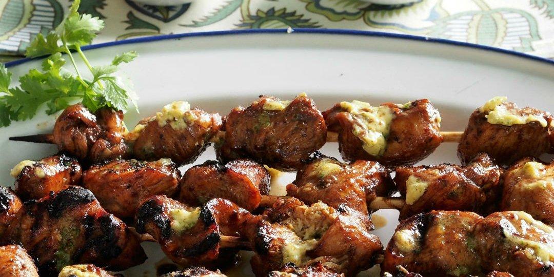Σουβλάκια κοτόπουλου Foodsaver με μέλι και λάιμ - Images