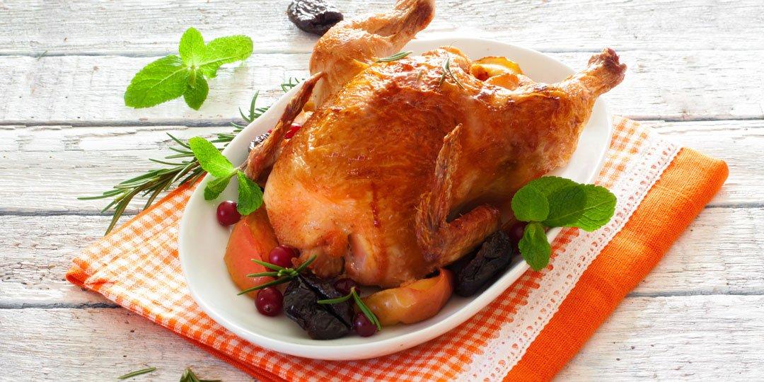 Κοτόπουλο με γέμιση κιμά και κάστανο - Images