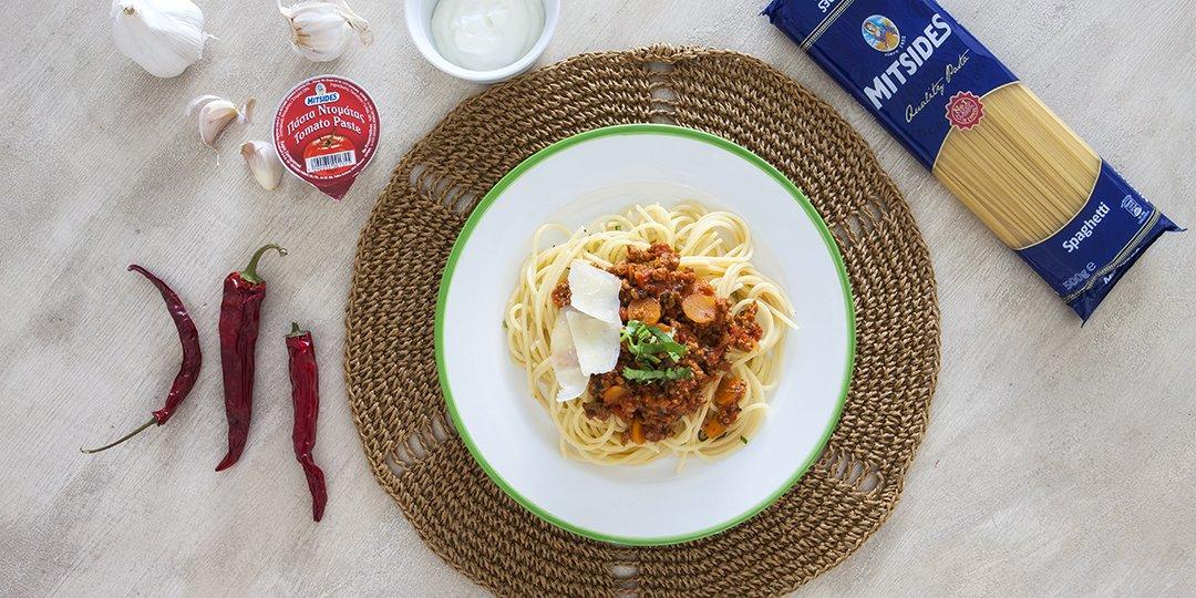 Μαροκινό και spicy σπαγγέτι μπολονέζ - Images