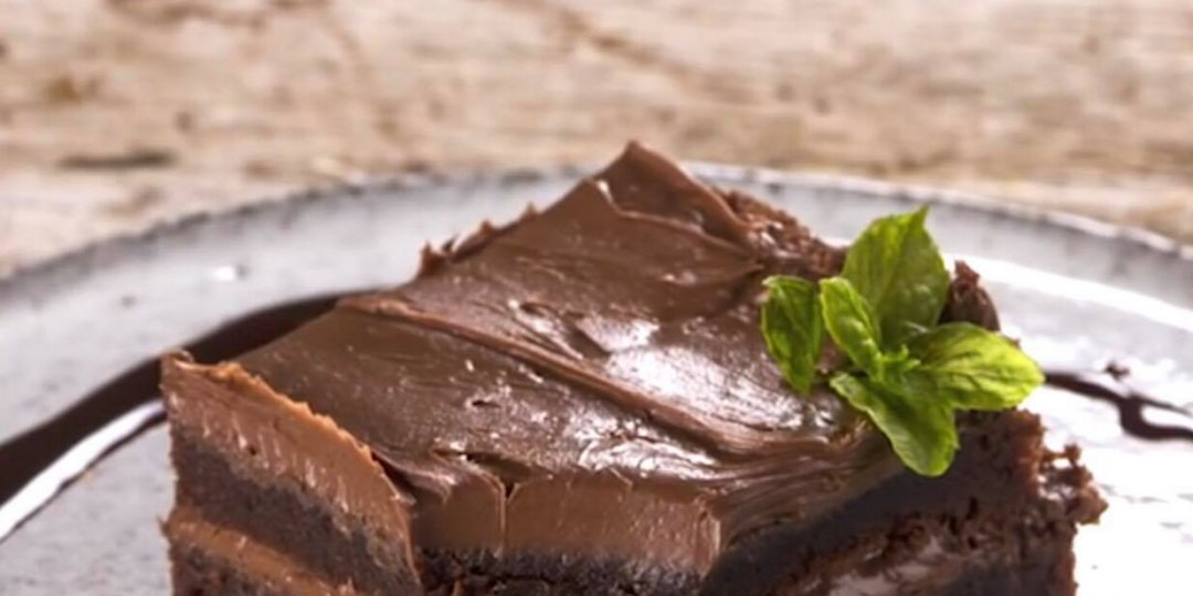 Πανεύκολο brownies με μόνο 3 υλικά - Images