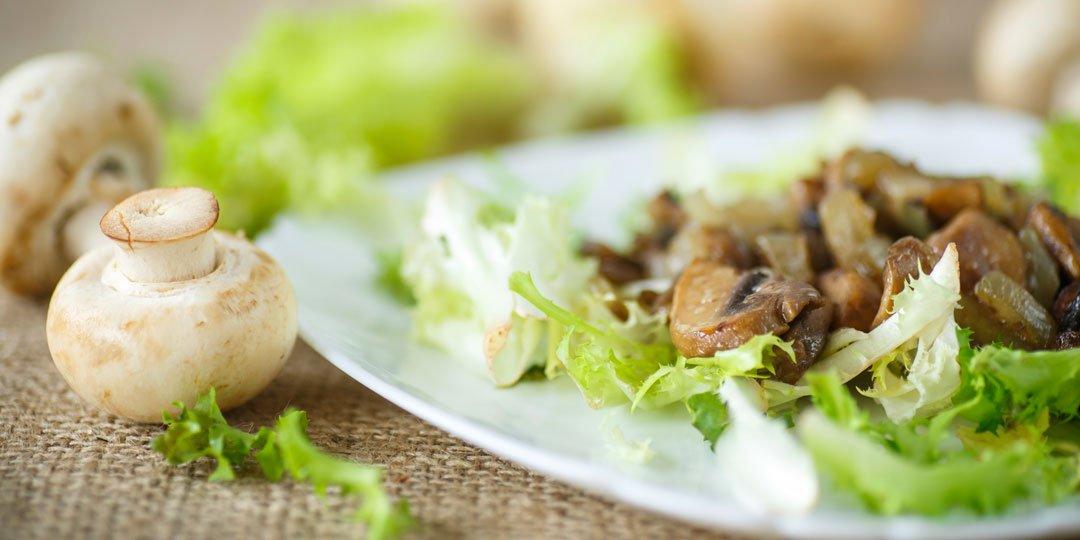 Σαλάτα ρόκα με ψητά μανιτάρια - Images
