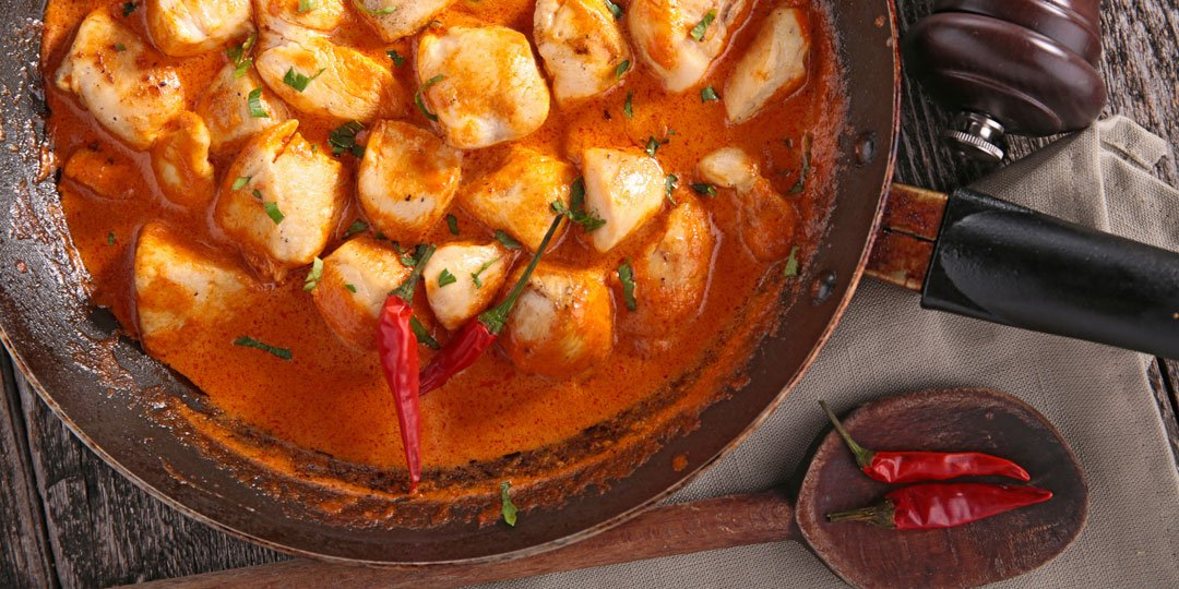 Κοτόπουλο με σάλτσα κάρυ - Images