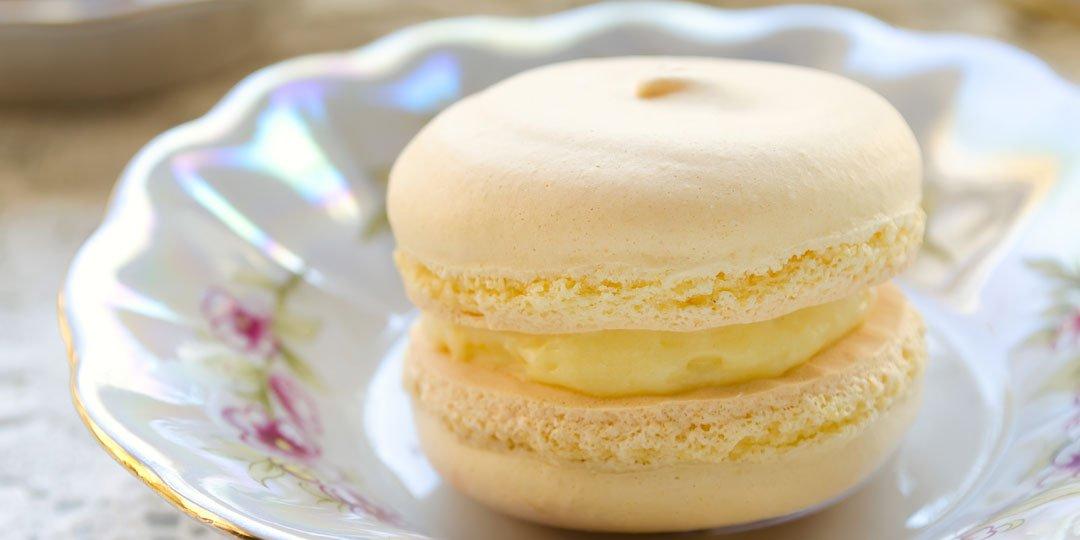 Macaron με λεμόνι  - Images