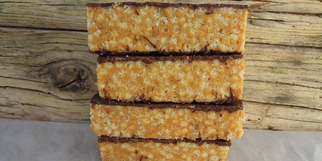 Υγιεινές μπάρες φυστικοβούτυρου με δημητριακά ρυζιού - Images