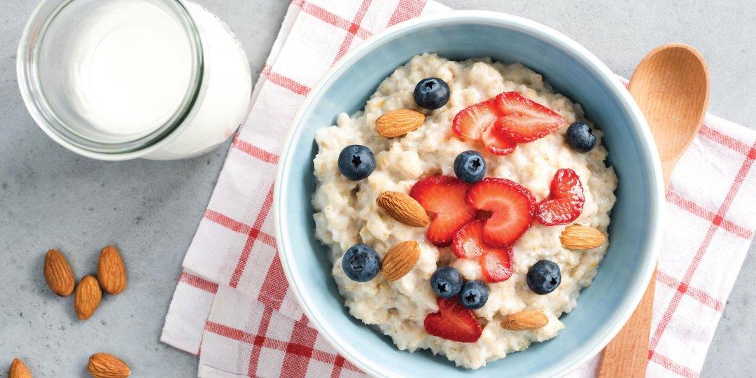 Κρέμα porridge με βρώμη Mornflake - Images