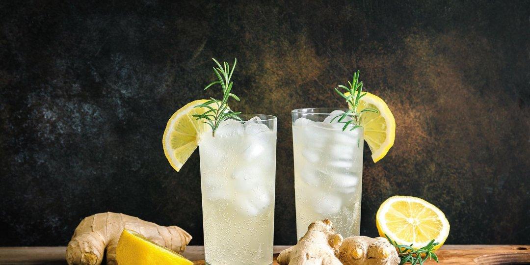 Λεμονάδα με κρόκο Κοζάνης και τζίντζερ - Images
