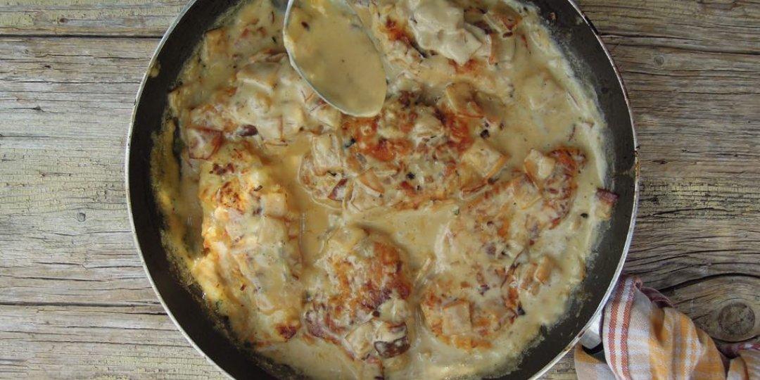 Κοτόπουλο καρμπονάρα - Images