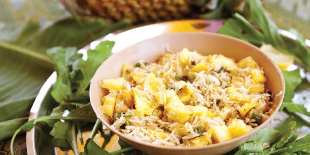 Τηγανητό ρύζι με ανανά Del Monte - Images