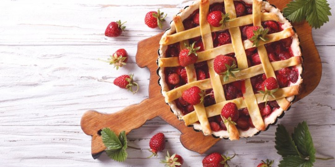 Πάστα Φλώρα με μαρμελάδα φράουλα Stute χωρίς πρόσθετη ζάχαρη - Images