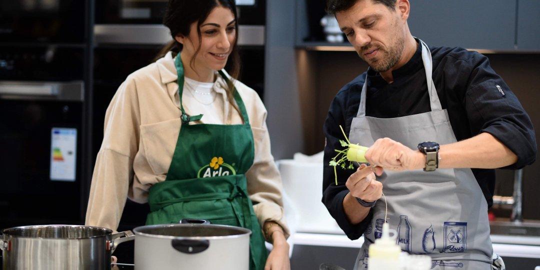 Χριστουγεννιάτικες συνταγές από τον αγαπημένο σεφ Αλέξανδρο Παπανδρέου με προϊόντα Lurpak και Arla σε συνεργασία με τις Υπεραγορές ΑΛΦΑΜΕΓΑ - Κεντρική Εικόνα