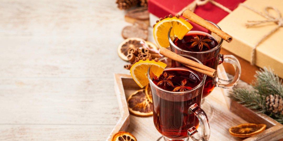 Ζεστό κόκκινο κρασί  - Images