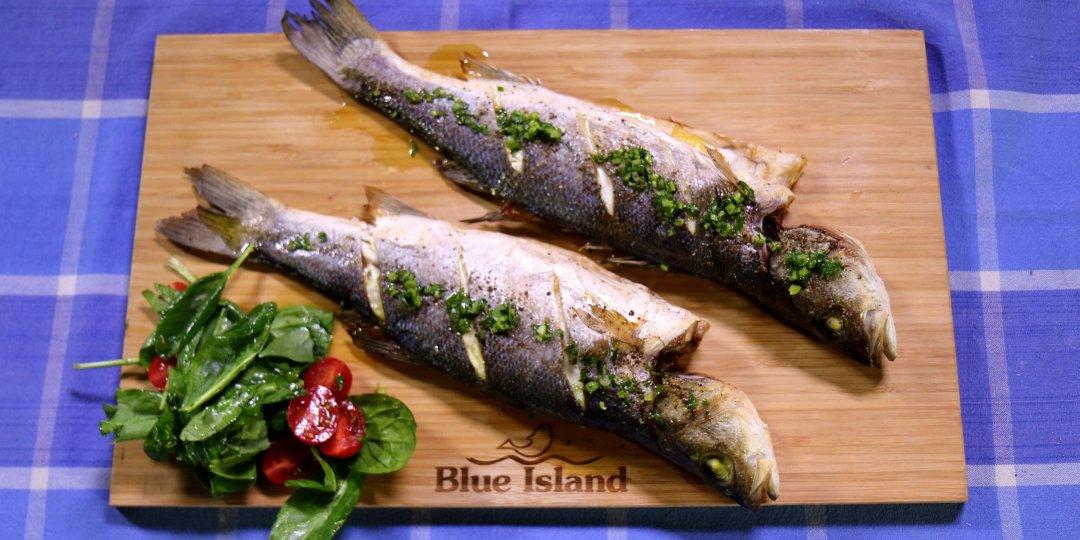 Λαβράκι Blue Island μαρινάτο σχάρας  - Images