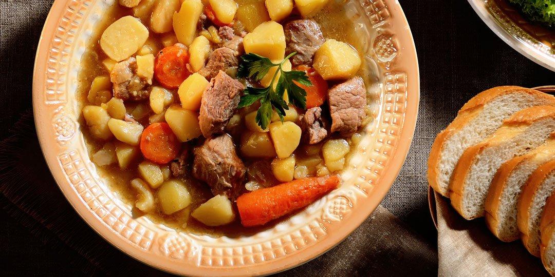 Σούπα με μοσχάρι και πατάτες  - Images
