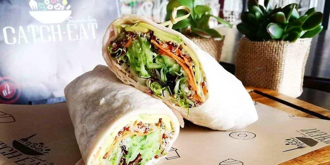 Tarama Quinoa Wrap - Κεντρική Εικόνα