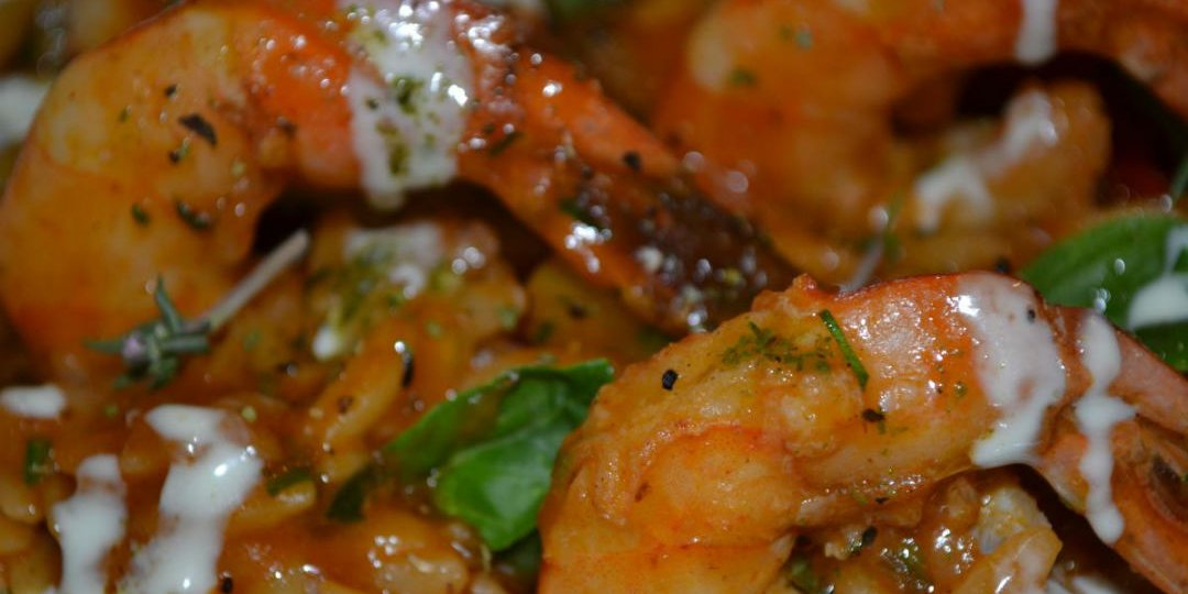 Κριθαρότο με γαρίδες, μύδια και καλαμάρι - Images