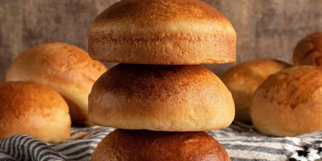 Σπιτικά ψωμάκια burger - Images
