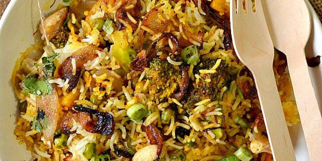 Biriyiani ινδικό ρύζι  - Images