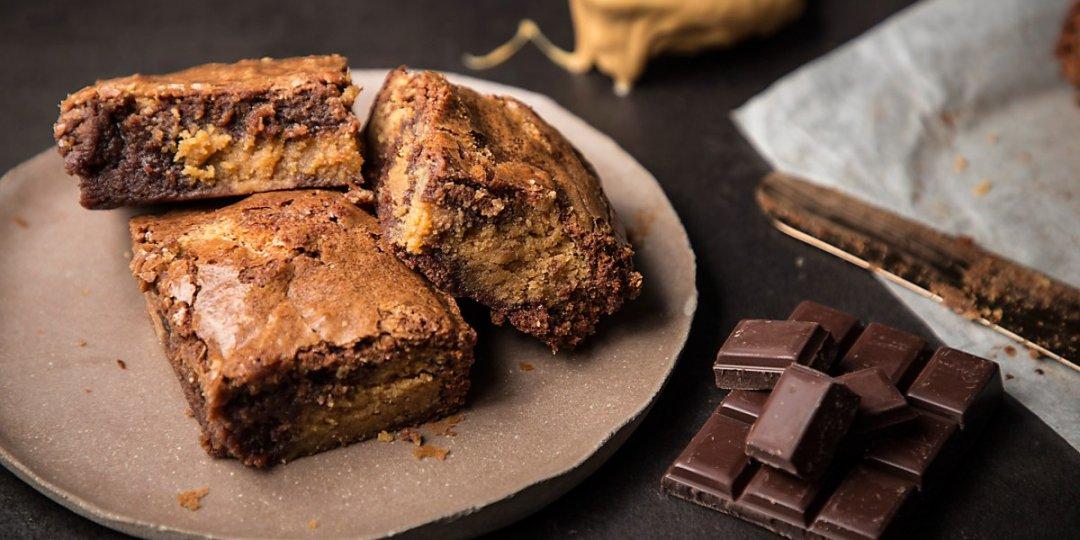 Brownies με φυστικοβούτυρο - Images