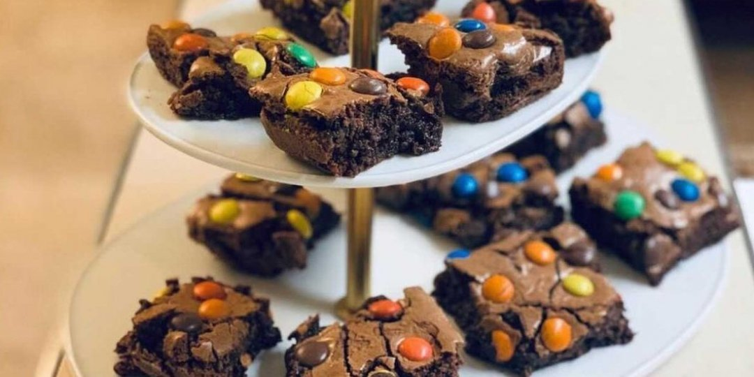 M&M's Brownies  - Images