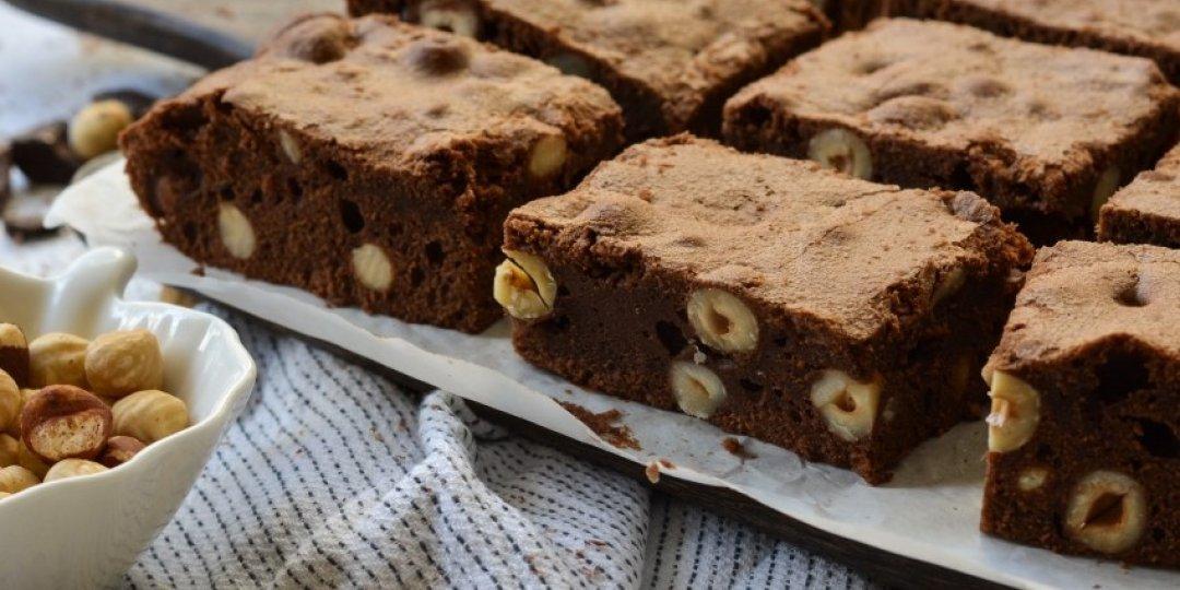 Brownies με φουντούκι - Images