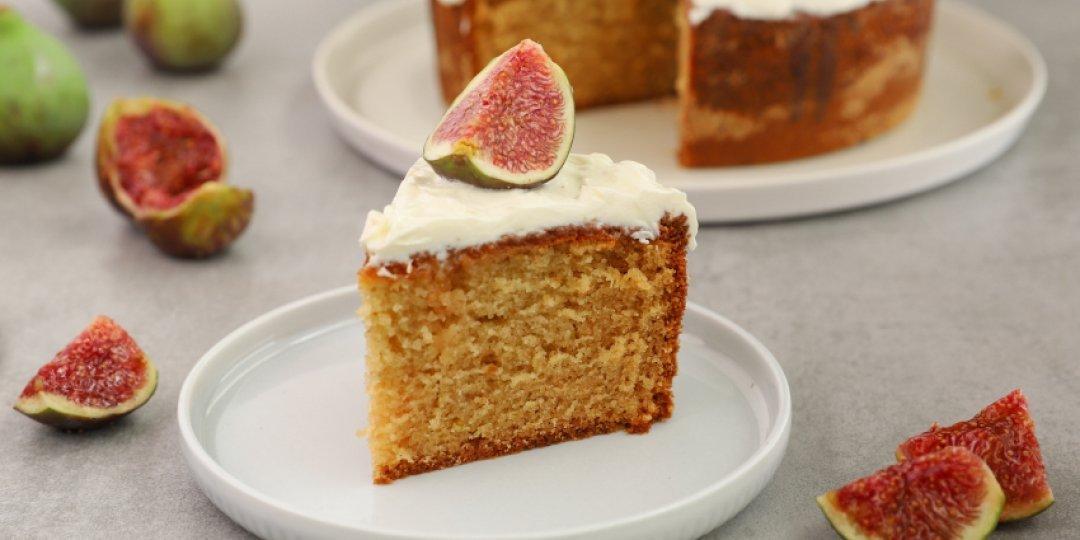 Κέικ με φρέσκα σύκα - Images