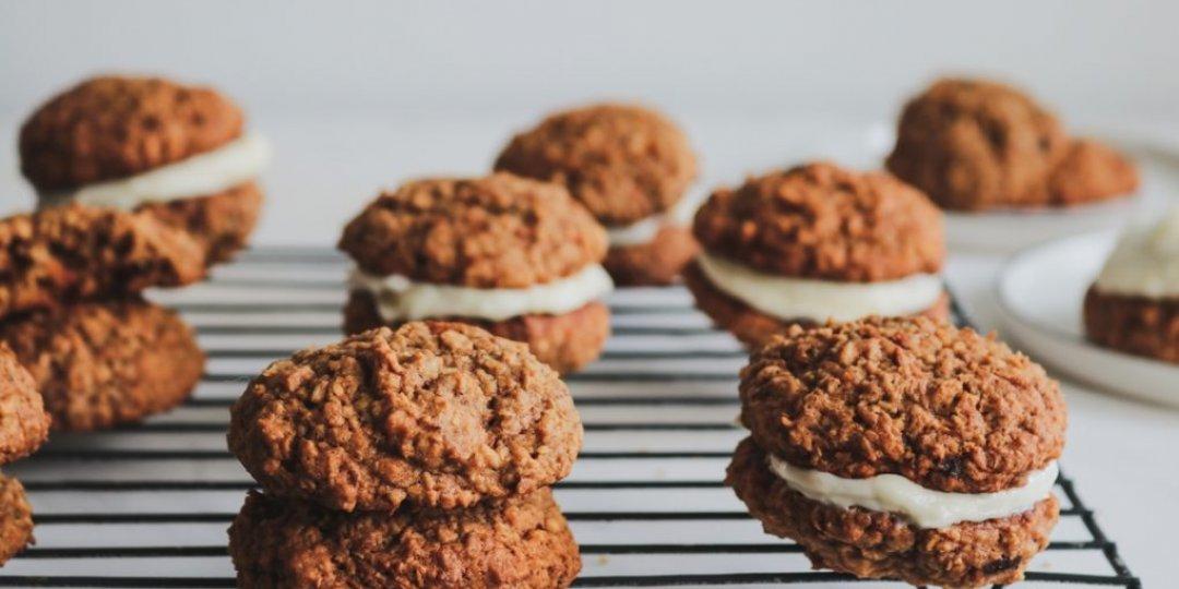 Μαλακά μπισκότα με γεύση carrot cake - Images