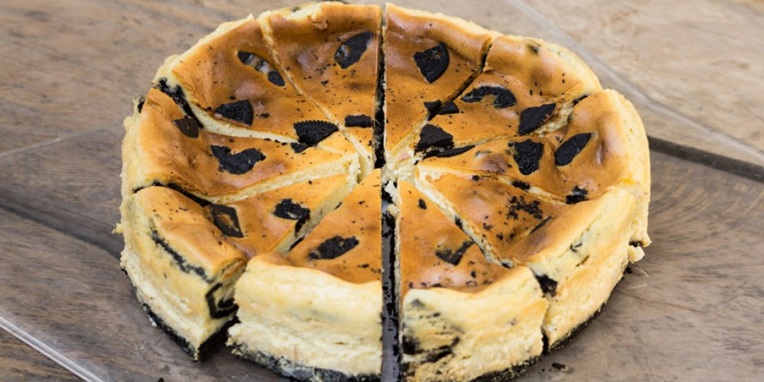 Cheesecake στο φούρνο με μπισκότα Oreo - Images
