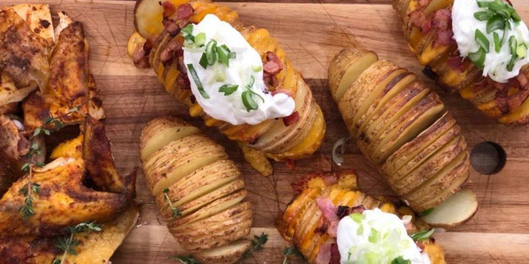 Κοτόπουλο φούρνου με ολόκληρες πατάτες «έκπληξη» - Images