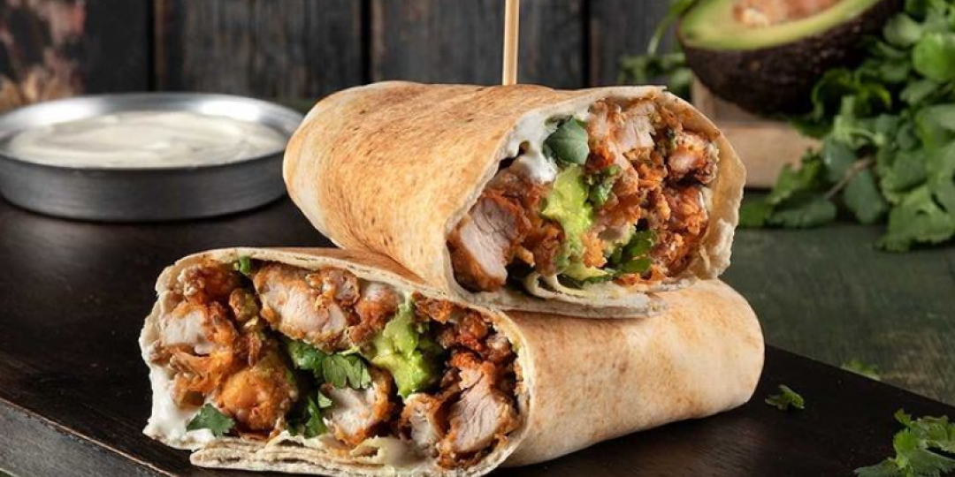 Wrap με τηγανητό κοτόπουλο - Images