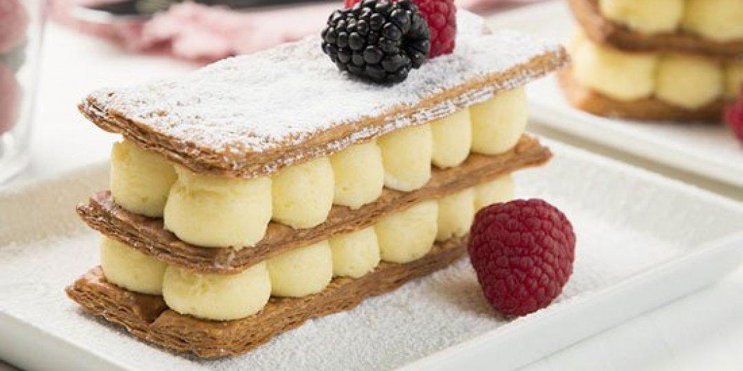 Tο μυστικό για μια γευστική και μυρωδάτη κρέμα ζαχαροπλαστικής - Images