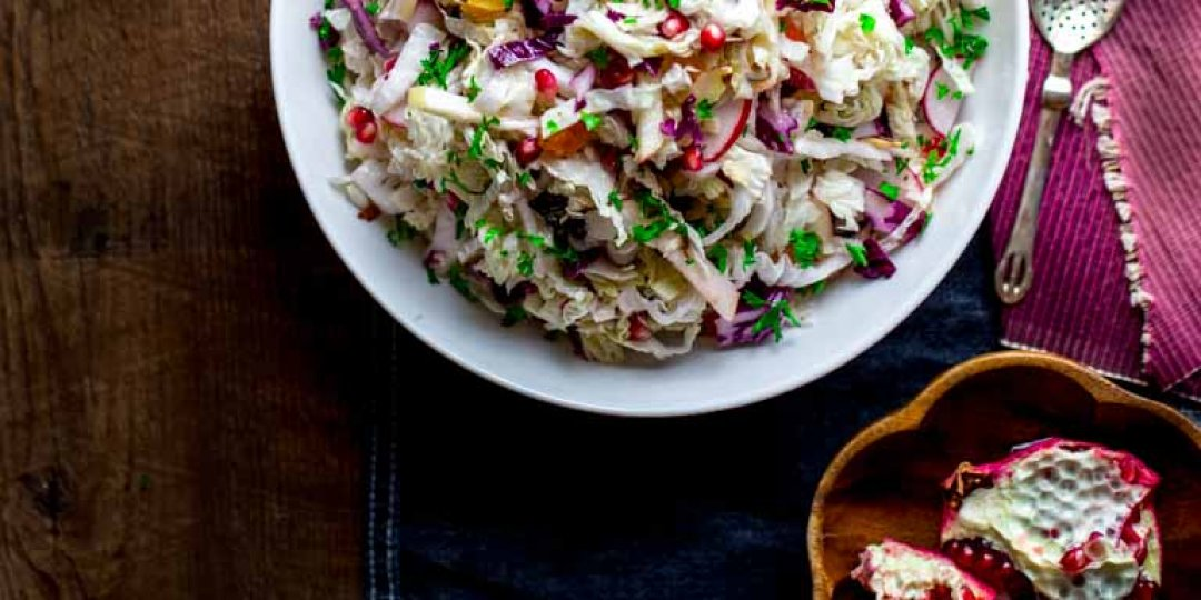 Γιορτινή σαλάτα με ρόδι  - Images