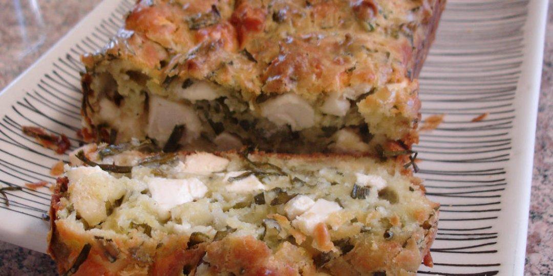 Κέικ με φέτα και αναρή  - Images