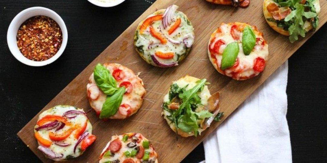 Πιτσάκια Foodsaver σε διάφορες γεύσεις  - Images