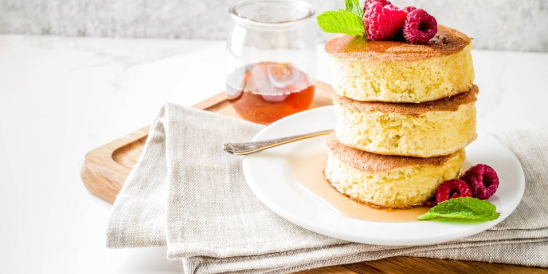 Japanese soufflé pancakes: Η δημοφιλής τάση που κάνει το γύρο του κόσμου - Κεντρική Εικόνα