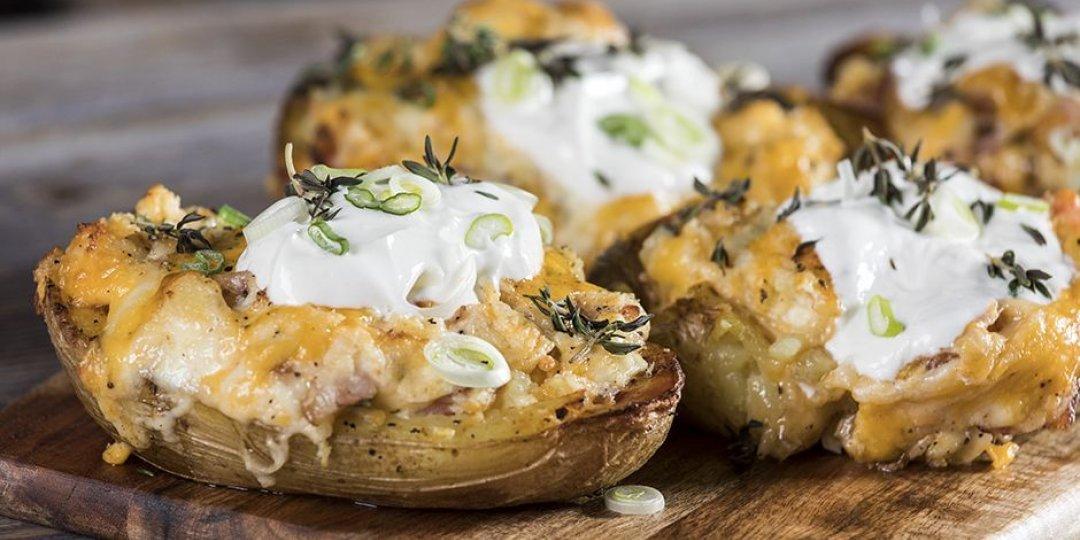 Πατάτες φούρνου με τυριά - Images