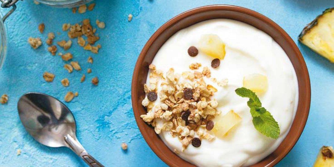 Δροσερό γιαουρτογλυκό με Ανανά DEL MONTE και ξηρούς καρπούς - Images