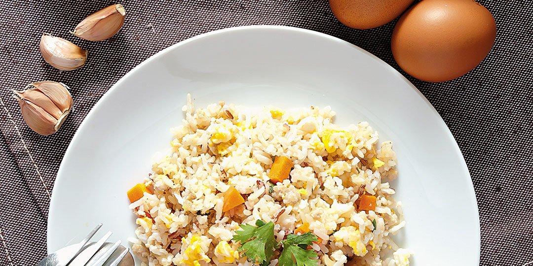 Τηγανητό ρύζι Exotic Food με σκόρδο - Images