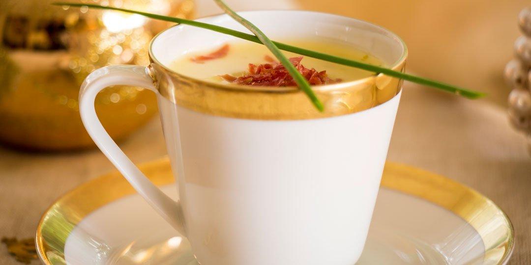 Πατατόσουπα με πράσο και καρότο  - Images