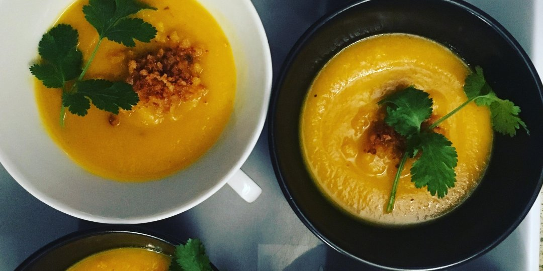 Νηστίσιμη σούπα με καρότο και τζίντζερ - Images