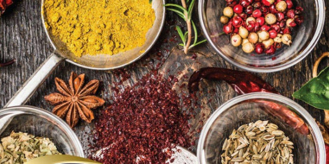 Μπαχαρικά και βότανα: Τα γευστικά συστατικά της φύσης  - Κεντρική Εικόνα