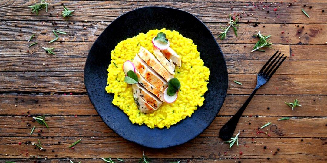 Τέλειο ριζότο κάρυ με κοτόπουλο - Images